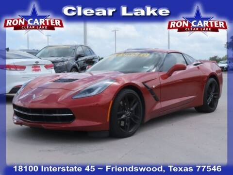 2015 Chevrolet Corvette for sale at Ron Carter  Clear Lake Used Cars in Houston TX