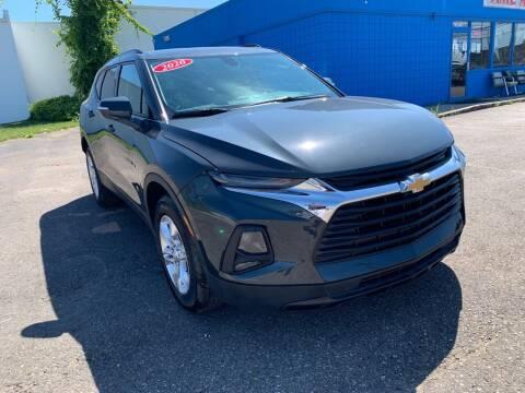 2020 Chevrolet Blazer for sale at M-97 Auto Dealer in Roseville MI
