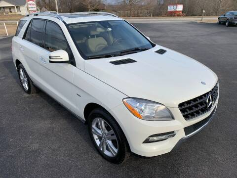 2012 Mercedes-Benz M-Class for sale at Hillside Motors in Jamestown KY