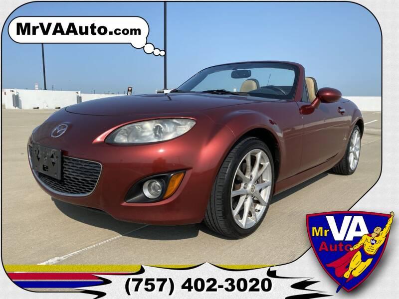 2010 Mazda MX-5 Miata for sale at Mr VA Auto in Chesapeake VA