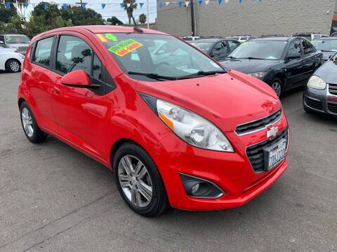 2014 Chevrolet Spark for sale at North County Auto in Oceanside CA