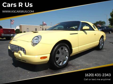 2002 Ford Thunderbird for sale at Cars R Us in Chanute KS