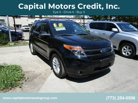 2012 Ford Explorer for sale at Capital Motors Credit, Inc. in Chicago IL