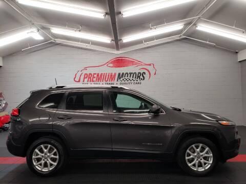 2016 Jeep Cherokee for sale at Premium Motors in Villa Park IL