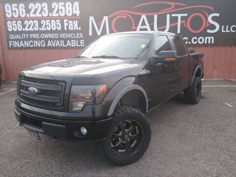 2013 Ford F-150 for sale at MC Autos LLC in Pharr TX