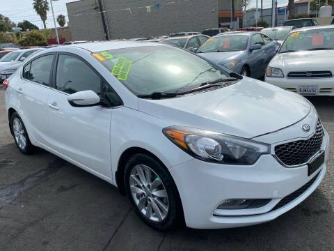 2015 Kia Forte for sale at North County Auto in Oceanside CA