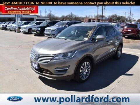 2017 Lincoln MKC for sale at South Plains Autoplex by RANDY BUCHANAN in Lubbock TX
