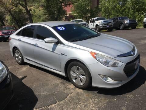 2015 Hyundai Sonata Hybrid for sale at 4X4 Auto Sales in Durango CO