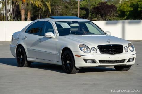 2009 Mercedes-Benz E-Class for sale at Euro Auto Sales in Santa Clara CA