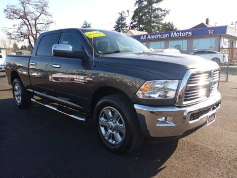2014 RAM Ram Pickup 2500 for sale at All American Motors in Tacoma WA