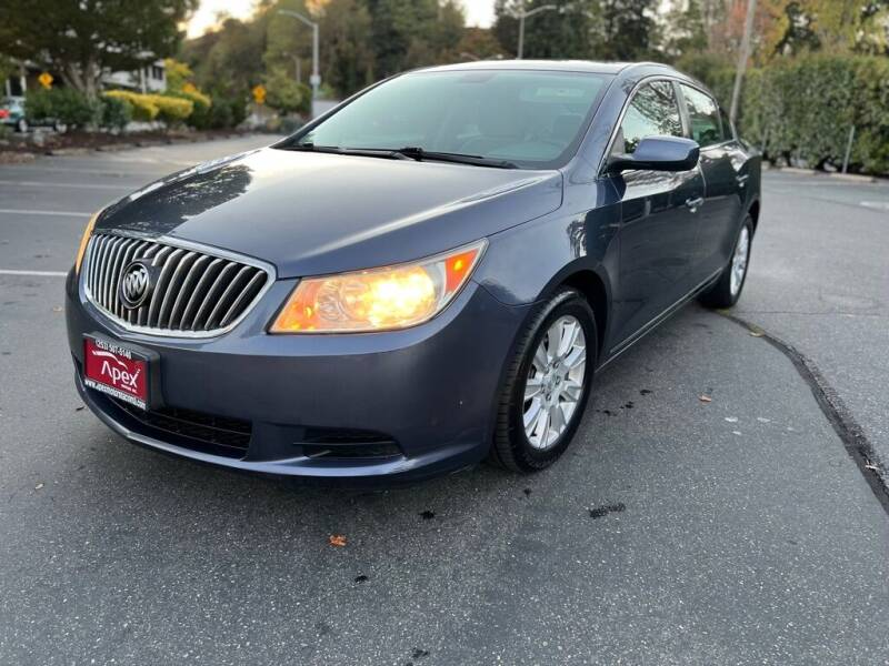 2013 Buick LaCrosse for sale at Apex Motors Inc. in Tacoma WA