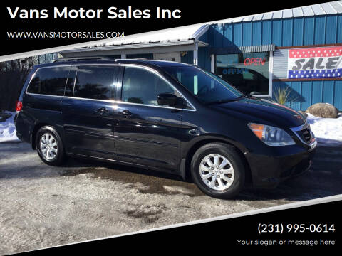 2008 Honda Odyssey for sale at Vans Motor Sales Inc in Traverse City MI