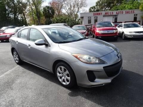 2013 Mazda MAZDA3 for sale at DONNY MILLS AUTO SALES in Largo FL