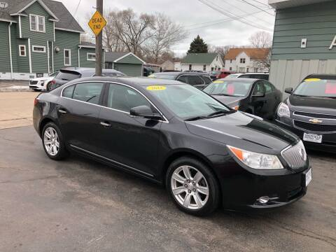 2011 Buick LaCrosse for sale at SHEFFIELD MOTORS INC in Kenosha WI