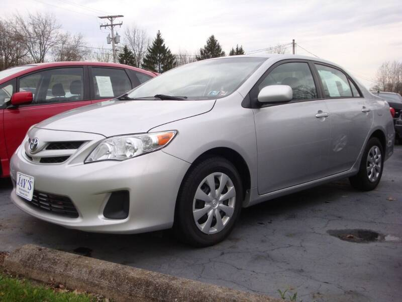 2011 Toyota Corolla for sale at Jay's Auto Sales Inc in Wadsworth OH