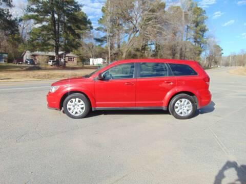 2014 Dodge Journey for sale at Evans Motors Inc in Little Rock AR