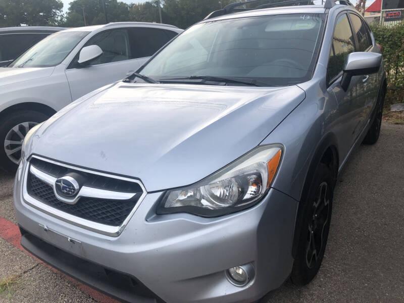 2015 Subaru XV Crosstrek for sale at Auto Access in Irving TX