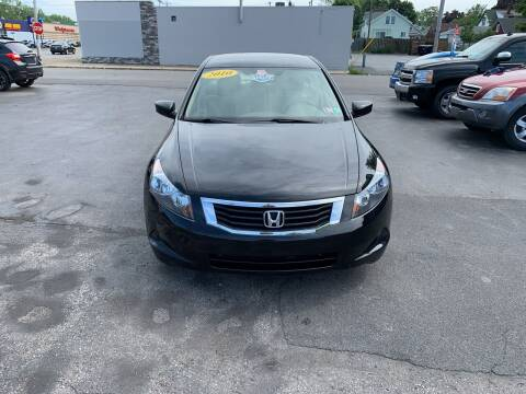 2010 Honda Accord for sale at L.A. Automotive Sales in Lackawanna NY