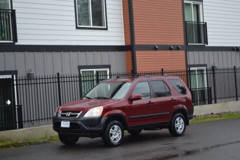 2002 Honda CR-V for sale at Skyline Motors Auto Sales in Tacoma WA