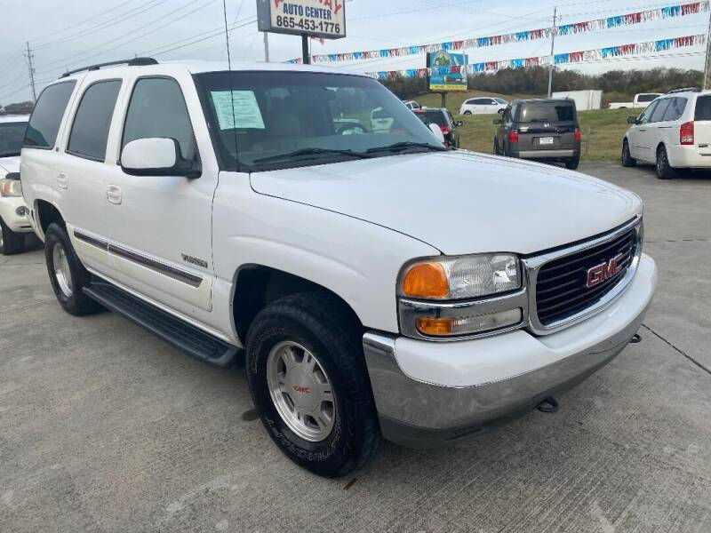 2001 GMC Yukon for sale at Autoway Auto Center in Sevierville TN