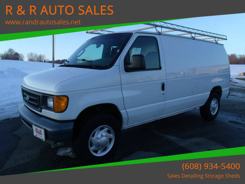 2007 Ford E-Series Cargo for sale at R & R AUTO SALES in Juda WI