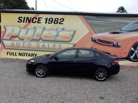 2015 Dodge Dart for sale at Pyles Auto Sales in Kittanning PA