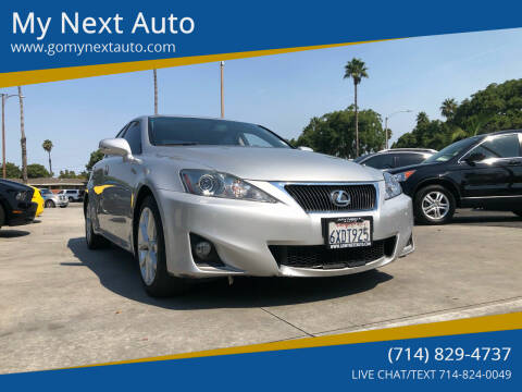 2012 Lexus IS 250 for sale at My Next Auto in Anaheim CA