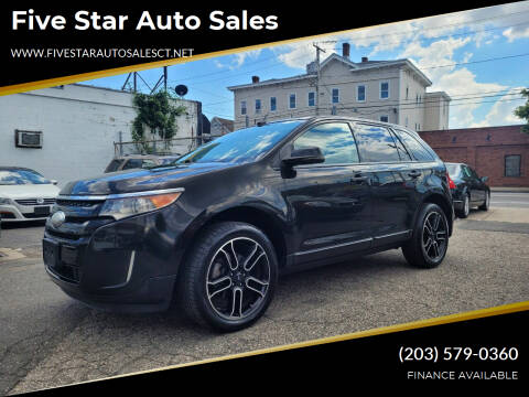 2013 Ford Edge for sale at Five Star Auto Sales in Bridgeport CT