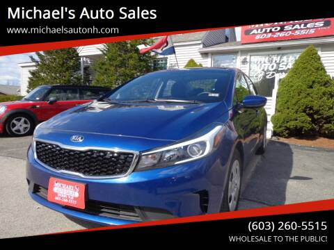 2017 Kia Forte for sale at Michael's Auto Sales in Derry NH