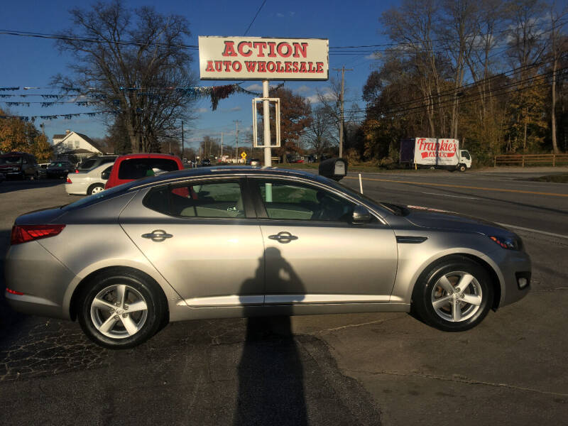 2013 Kia Optima for sale at Action Auto Wholesale in Painesville OH