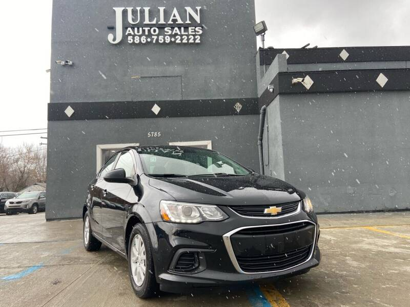 2018 Chevrolet Sonic for sale at Julian Auto Sales, Inc. in Warren MI
