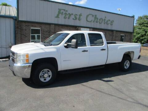 2010 Chevrolet Silverado 2500HD for sale at First Choice Auto in Greenville SC