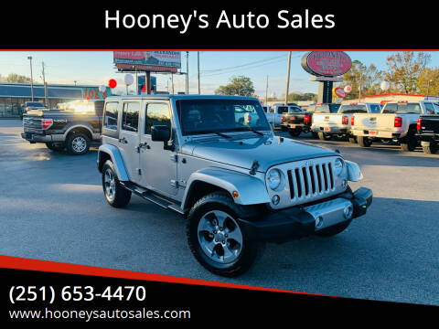 2016 Jeep Wrangler Unlimited for sale at Hooney's Auto Sales in Theodore AL