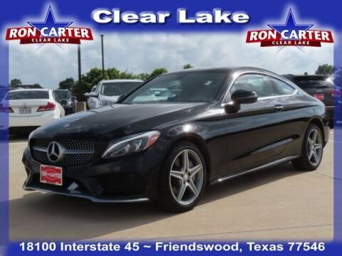 2017 Mercedes-Benz C-Class for sale at Ron Carter  Clear Lake Used Cars in Houston TX