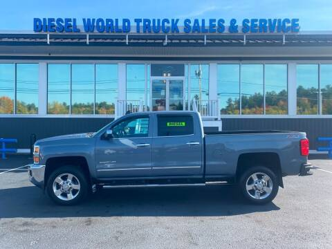 2016 Chevrolet Silverado 2500HD for sale at Diesel World Truck Sales in Plaistow NH