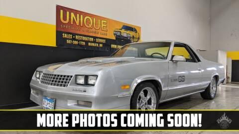 1987 Chevrolet El Camino for sale at UNIQUE SPECIALTY & CLASSICS in Mankato MN