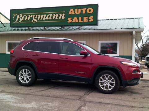 2014 Jeep Cherokee for sale at Borgmann Auto Sales in Norfolk NE