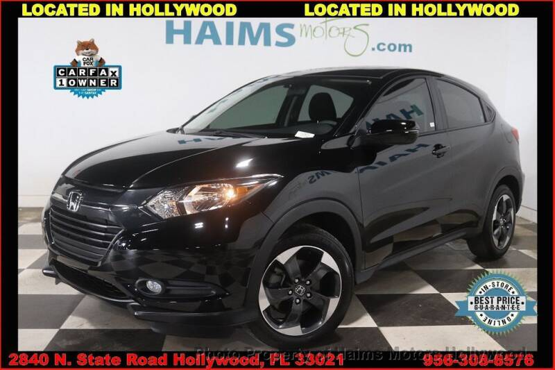 2018 Honda HR-V for sale in Hollywood, FL