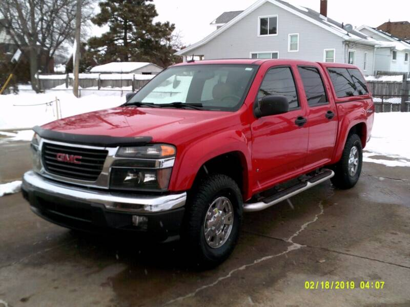 2007 GMC Canyon for sale at Fred Elias Auto Sales in Center Line MI
