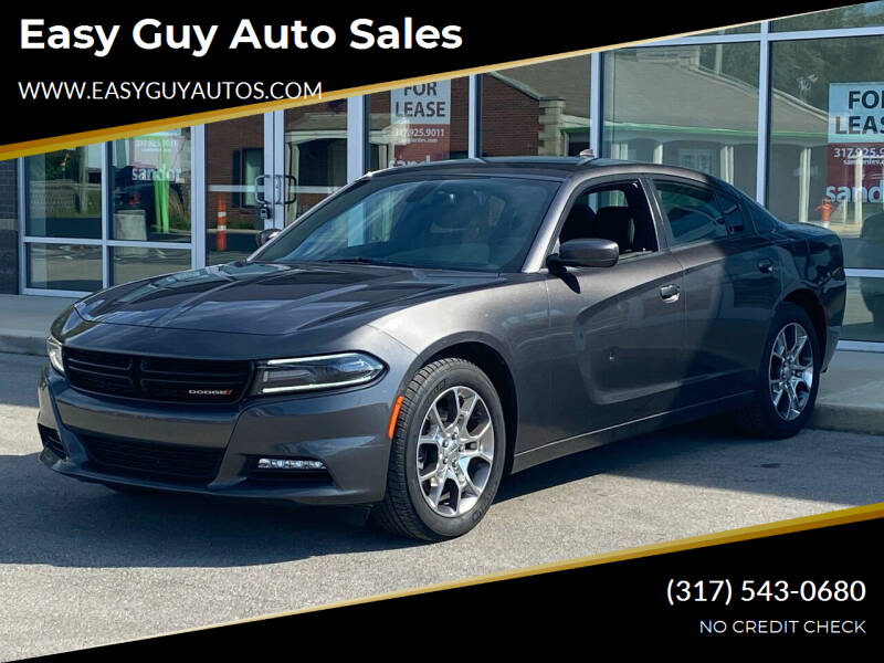 2016 Dodge Charger for sale at Easy Guy Auto Sales in Indianapolis IN