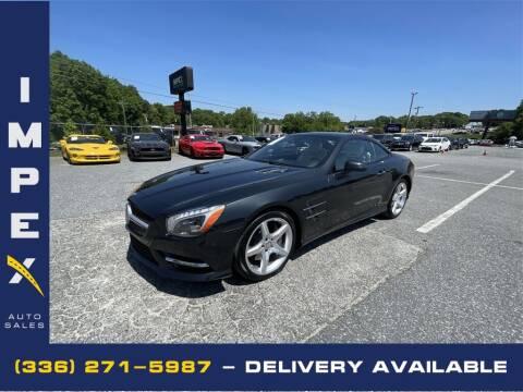 2013 Mercedes-Benz SL-Class for sale at Impex Auto Sales in Greensboro NC