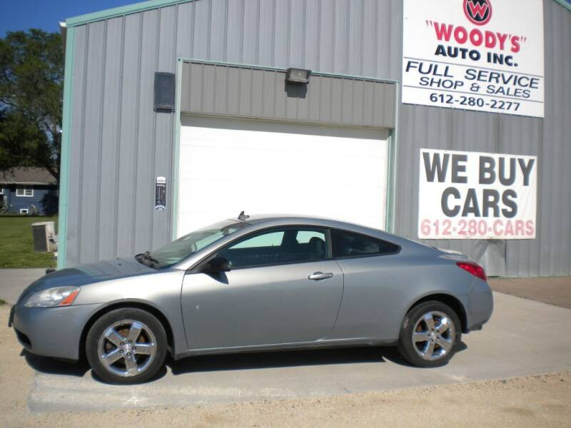 2008 Pontiac G6 for sale at Woody's Auto Sales Inc in Randolph MN