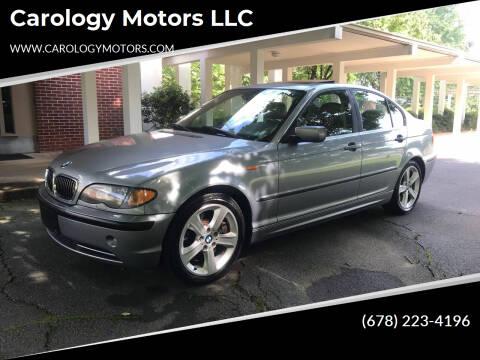 2004 BMW 3 Series for sale at Carology Motors LLC in Marietta GA