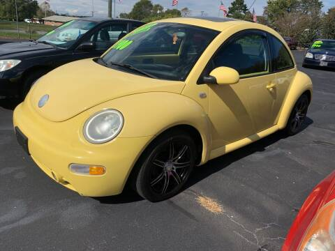 2003 Volkswagen New Beetle for sale at Doug White's Auto Wholesale Mart in Newton NC