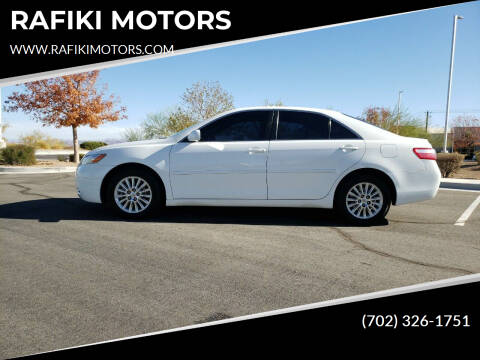 2007 Toyota Camry for sale at RAFIKI MOTORS in Henderson NV