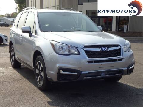 2018 Subaru Forester for sale at RAVMOTORS 2 in Crystal MN