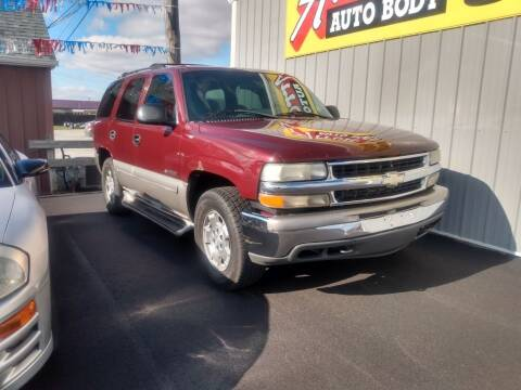 2000 Chevrolet Tahoe for sale at Auto Pro Inc in Fort Wayne IN