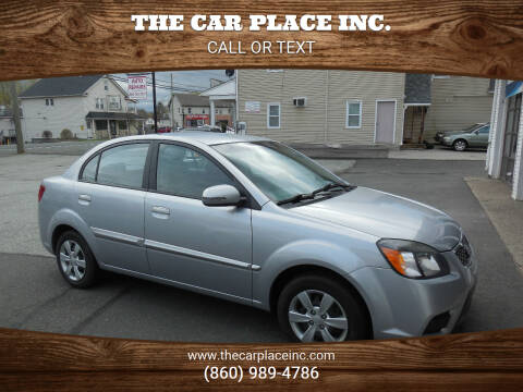 2011 Kia Rio for sale at THE CAR PLACE INC. in Somersville CT