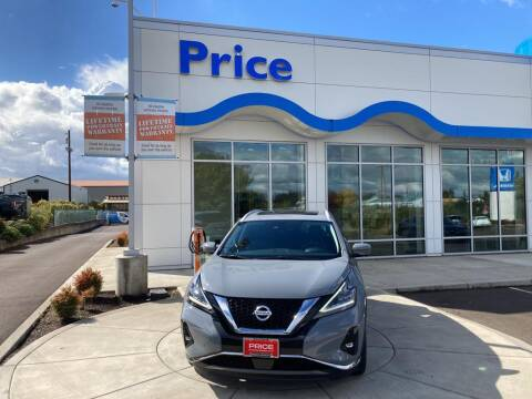2021 Nissan Murano for sale at Price Honda in McMinnville in Mcminnville OR