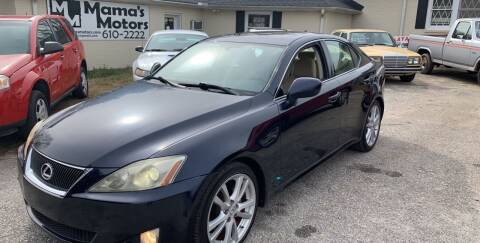 2007 Lexus IS 250 for sale at Mama's Motors in Greer SC